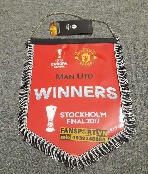Cờ Europa League Winners 2017 Manchester United pennant