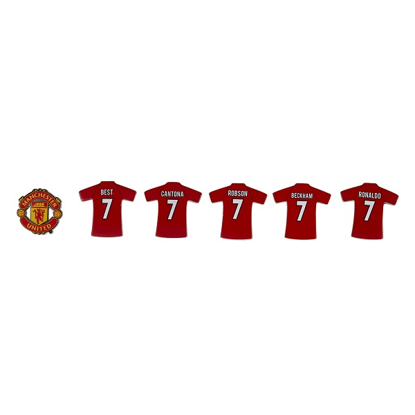 Bộ huy hiệu Manchester United Magnificent 7's badge set