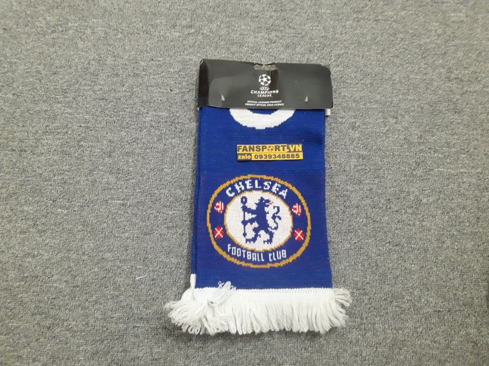 Khăn choàng Chelsea Champion League Winners 2012 blue scarf