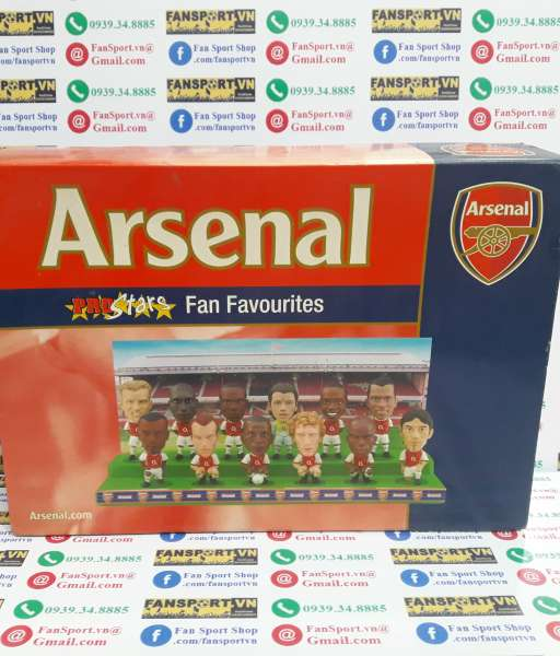 Bộ tượng Arsenal 2003-2004 Premiership Champion Fan Favourites Prostar