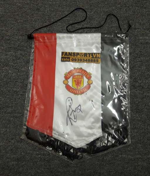 Cờ Manchester United chữ ký Rafael da Silva #2 pennant singed