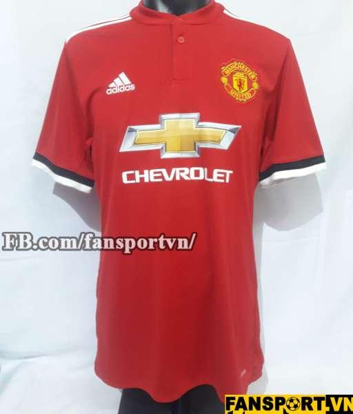 Áo đấu Manchester United 2017-2018 home shirt jersey red