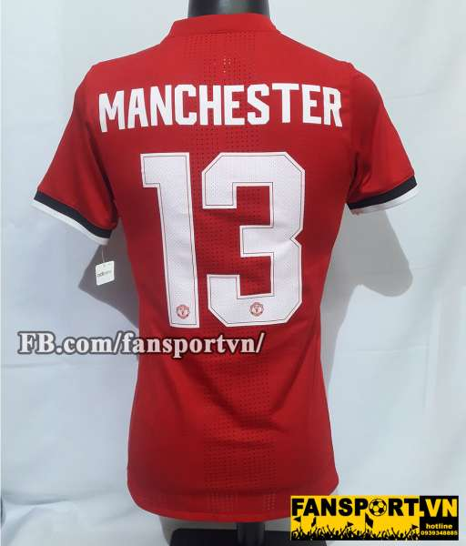Áo đấu #13 Manchester United 2017-2018 home shirt Friendly Legend