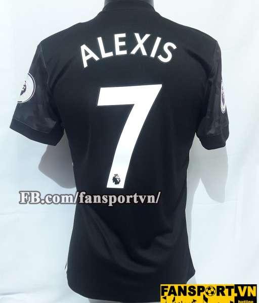 Áo đấu Alexis #7 Manchester United 2017-2018 home shirt jersey black