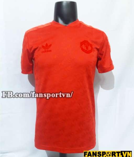 Áo đấu retro Manchester United 2017-2018 orange shirt jersey