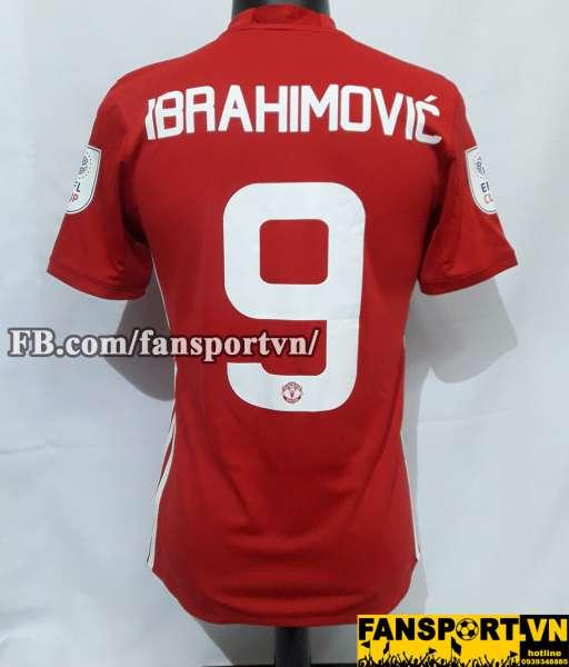 Áo đấu Ibrahimovic #9 Manchester United League Cup Final 2017 shirt