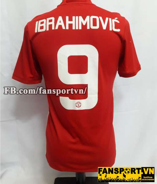 Áo đấu Ibrahimovic #9 Manchester United League Cup Final 2017 shirt