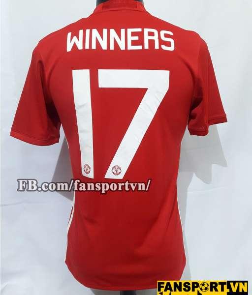 Áo đấu Manchester United Winners 17 League Cup 2017 shirt home red