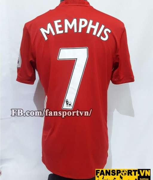 Áo đấu Memphis Depay #7 Manchester United 2016-2017 shirt home red