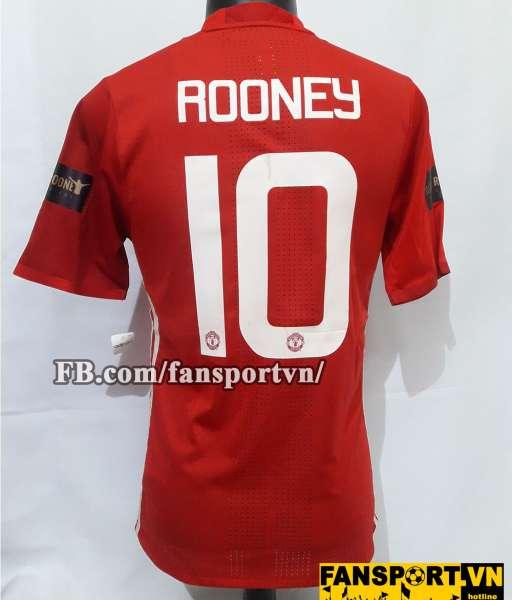 Áo đấu Wayne Rooney #10 Manchester United 2016-2017 testimonial shirt