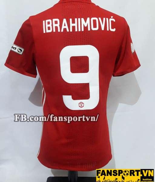 Áo đấu Ibrahimovic #9 Manchester United Community Shield 2016 home red