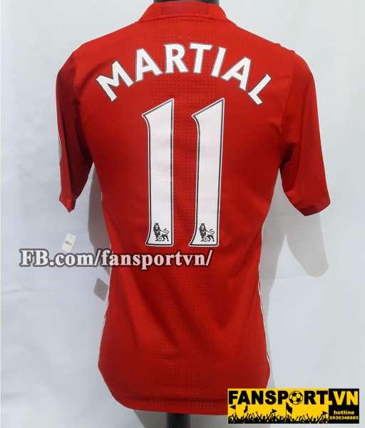 Áo đấu Martial #11 Manchester United 2016-2017 home shirt jersey red