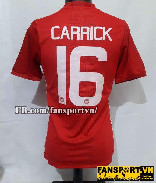 Áo đấu Carrick #16 Manchester United 2016-2017 home shirt jersey red