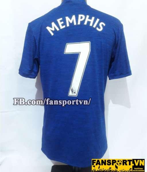 Áo đấu Memphis Depay #7 Manchester United 2016-2017 away shirt jersey