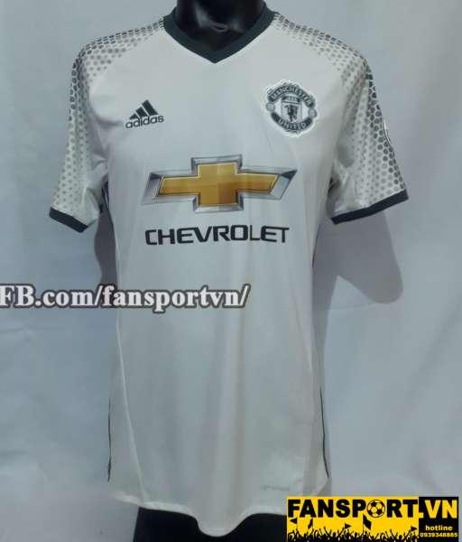 Áo đấu Memphis #7 Manchester United 2016-2017 third shirt jersey white