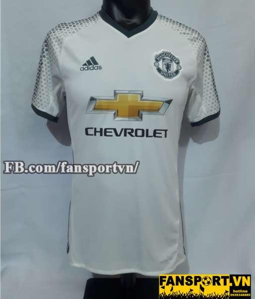 Áo Manchester United Wayne Rooney 250 goals shirt jersey third white