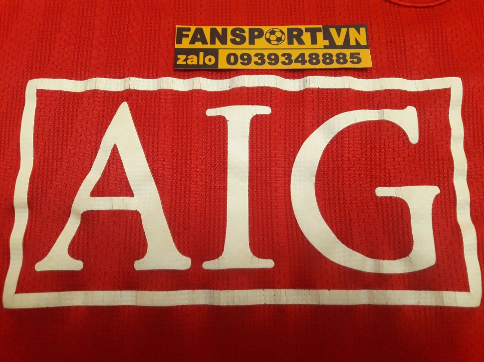 Áo Nani #17 Manchester Unied Community Shield 2008 shirt jersey red