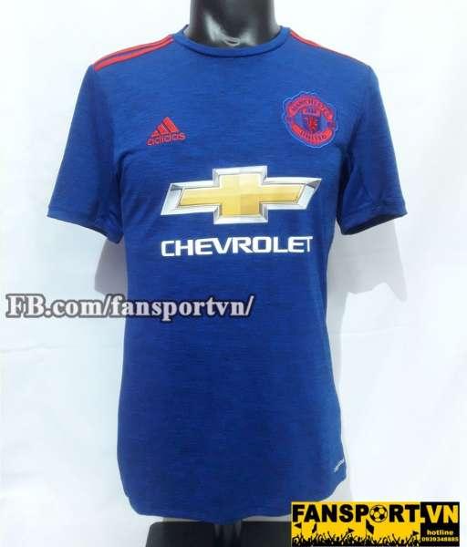 Áo đấu Manchester United Wayne Rooney 250 goals shirt jersey away blue