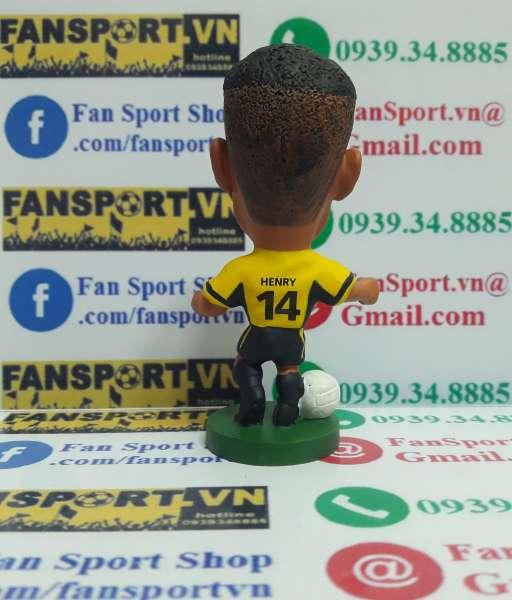 Tượng Thierry Henry Arsenal 1999-2000 away corinthian PRO254