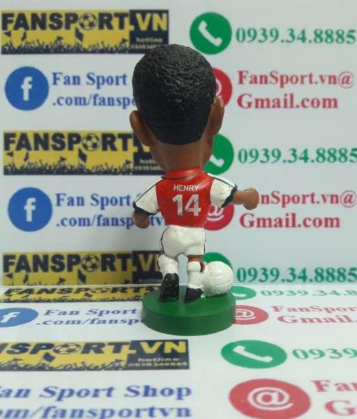 Tượng Thierry Henry Arsenal 2000-2002 home corinthian PRO617