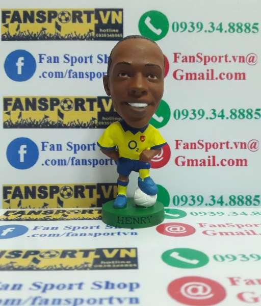 Tượng Thierry Henry Arsenal 2003-2004 away corinthian PRO990
