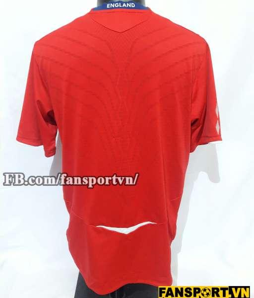 Áo đấu England 2008-2010 away shirt jersey red