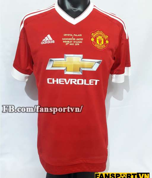Áo đấu #12 Manchester United FA Cup winner 2016 home shirt jersey red