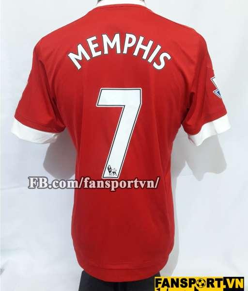 Áo đấu Memphis Depay #7 Manchester United 2015-2016 home shirt jersey