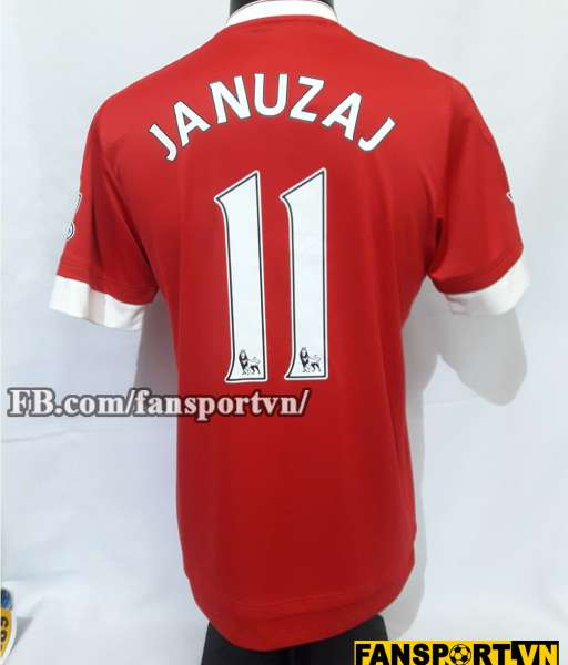 Áo đấu Januzaj #11 Manchester United 2015-2016 home shirt jersey red