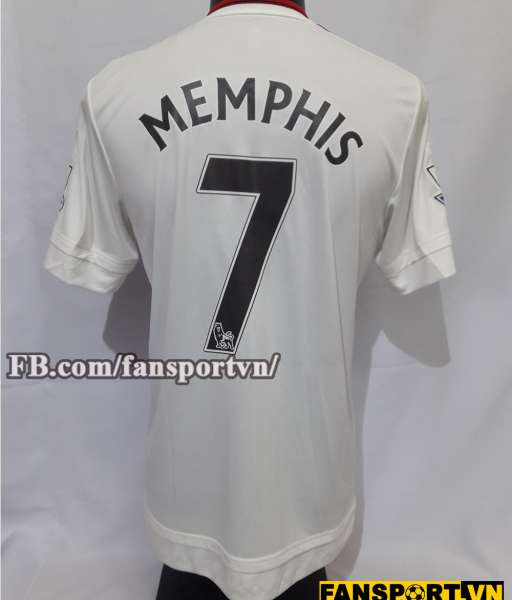 Áo đấu Memphis Depay #7 Manchester United 2015-2016 away shirt jersey