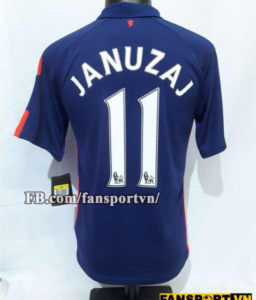 Áo đấu Januzaj #11 Manchester United 2014-2015 third shirt jersey blue