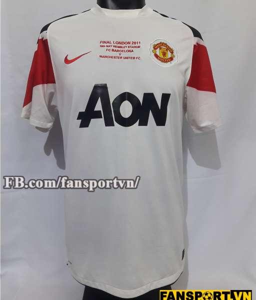 Áo đấu Manchester United Champion League Final 2011 away shirt jersey