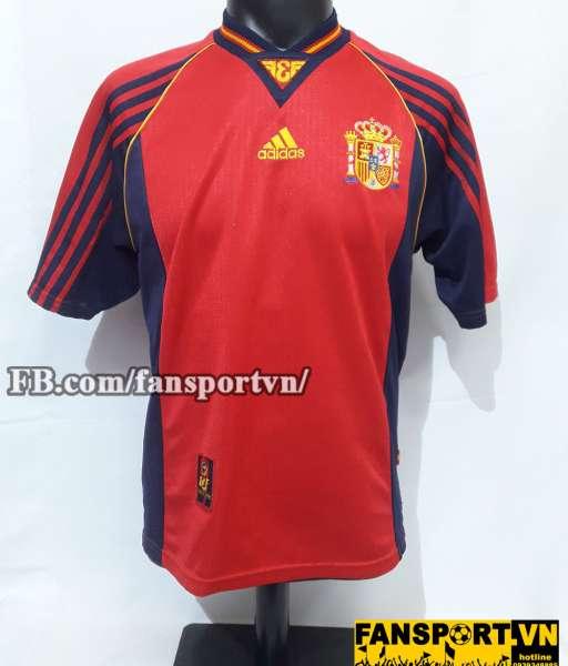 Áo đấu Spain 1998-1999 home shirt jersey red