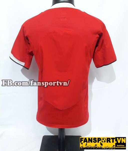 Áo đấu Manchester United 2004-2005-2006 home shirt jersey red