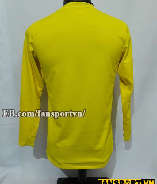 Áo thủ môn Manchester United 2008-2009 goalkeeper shirt jersey yellow