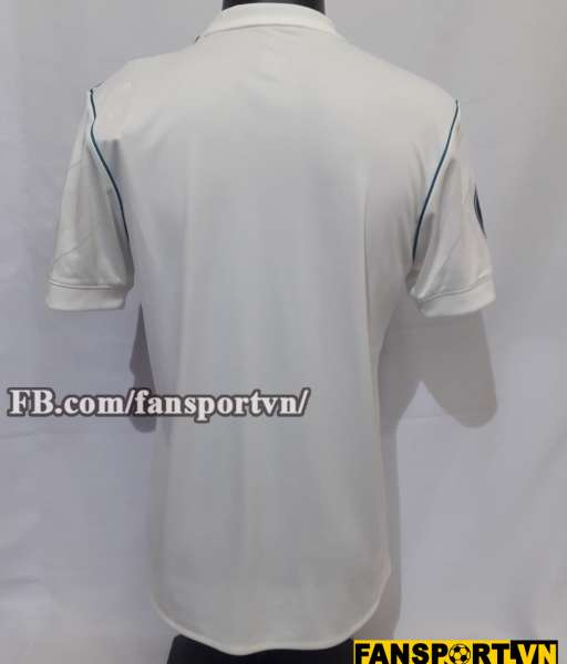 Áo đấu Real Madrid Champion League Final 2018 home shirt jersey white