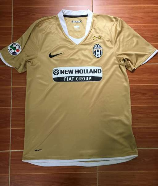Áo đấu Nedved #11 Juventus 2008-2009 away shirt jersey yellow