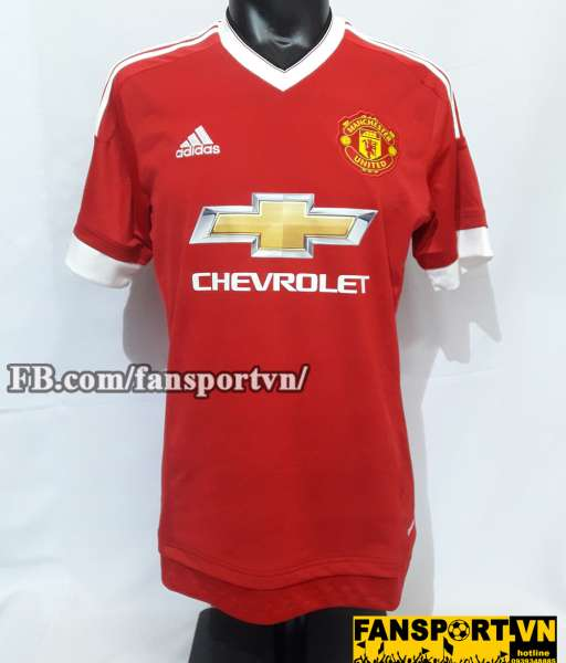 Áo đấu Manchester United 2015-2016 home shirt jersey red