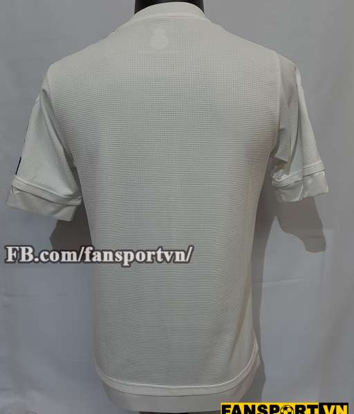 Áo đấu Real Madrid Champion League final 2016 home shirt jersey white