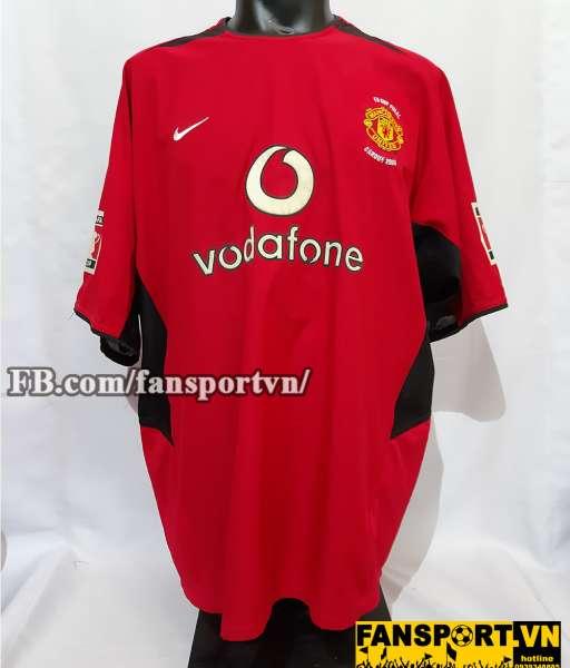 Áo đấu Giggs #11 Manchester United FA Cup final 2004 home shirt jersey