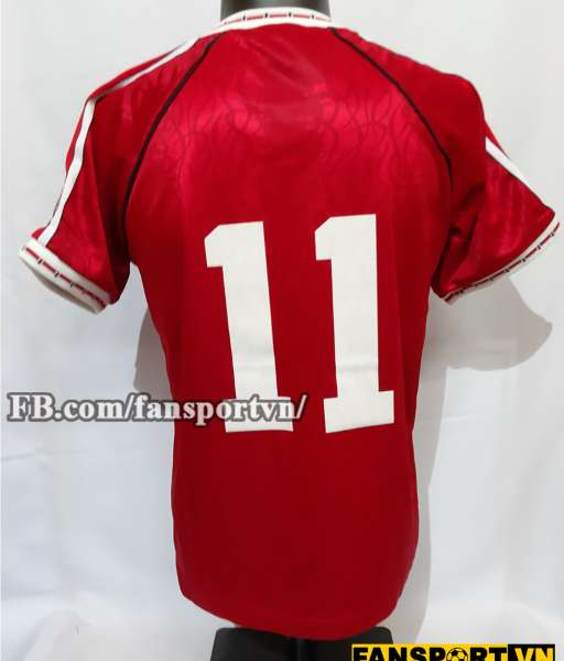 Áo đấu #11 Manchester United League Cup final 1991 home shirt jersey