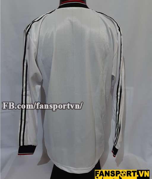 Áo đấu Manchester United League Cup final 1983 away shirt jersey white