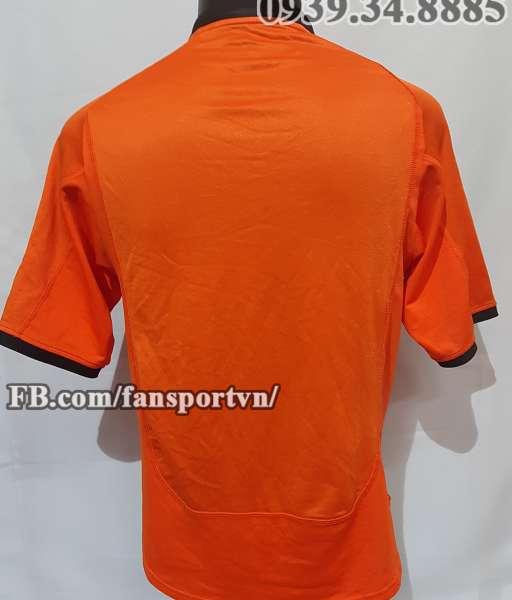 Áo đấu Netherland 2000 2001 2002 home shirt jersey orange Holland