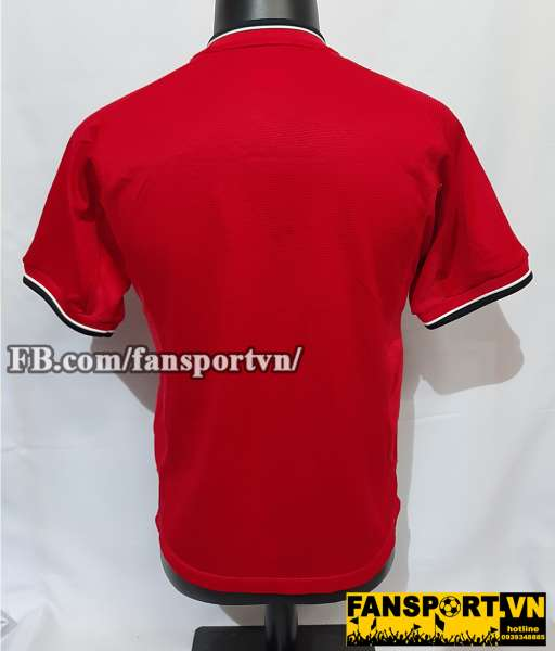 Áo đấu Manchester United 2000-2001-2002 home shirt jersey red