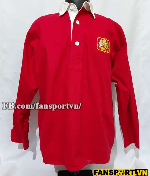 Áo đấu Manchester United 1946-1956 home shirt jersey red