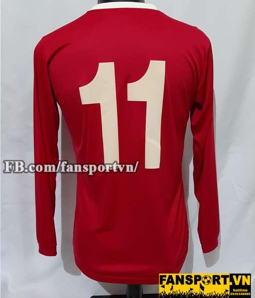 Áo đấu #11 Manchester United 1956-1961 home shirt jersey red 2008