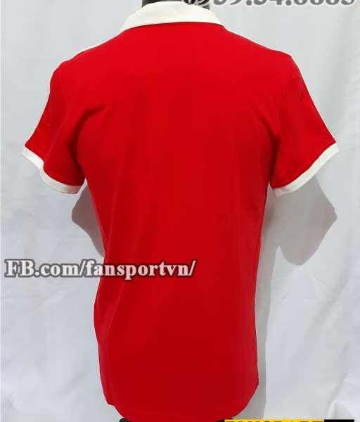 Áo đấu Manchester United 1980-1981-1982 home shirt jersey red