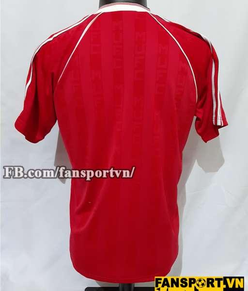 Áo đấu Manchester United 1988-1989-1990 home shirt jersey red