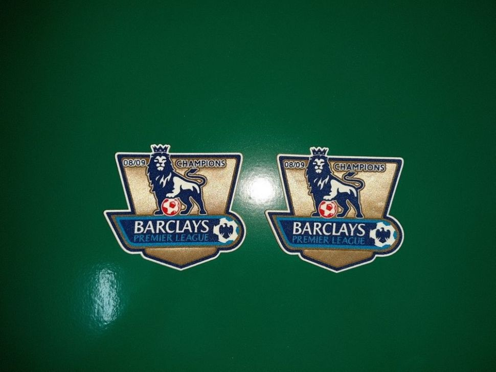 Patch F.A. Premier League 2008-2009 Champions badge gold