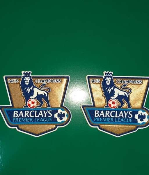 Patch F.A. Premier League 2014-2015 Champions badge gold